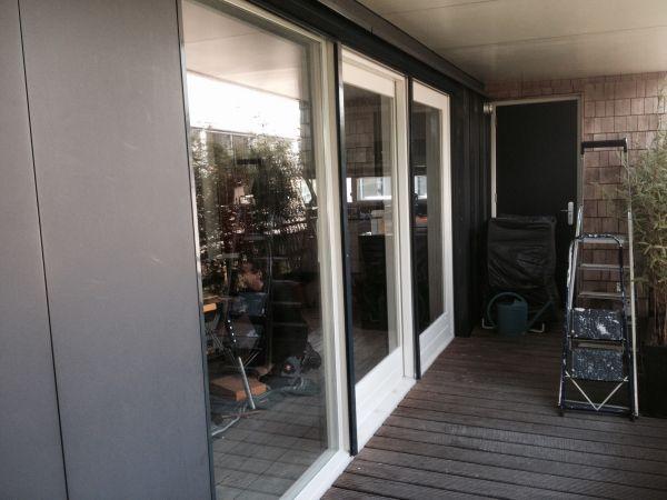 Nieuwe Harhouten schuifpui te Amersfoort Nieuwland