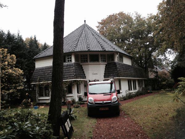 HR++ isolatieglas geplaatst villa te Bilthoven