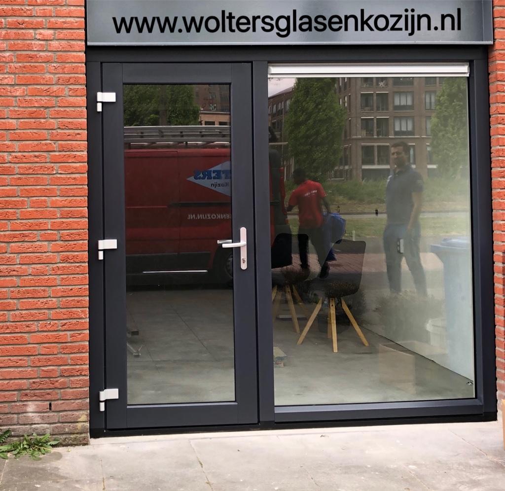 Van garage naar kapsalon aan huis met een mooie Gealan kunststof pui te Amersfoort Vathorst.