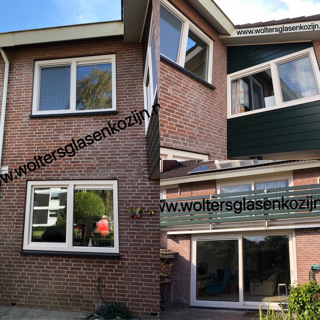 Luxe Gealan S9000 kozijnen aan de Van Randwijcklaan te Amersfoort.
